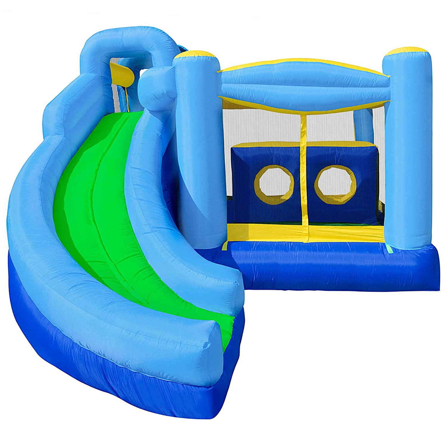 cloud 9 quad bo bounce house inflatable bouncer