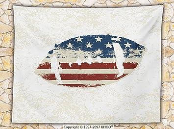 Deportes Decor manta de forro polar diseño de Grunge la bandera ...