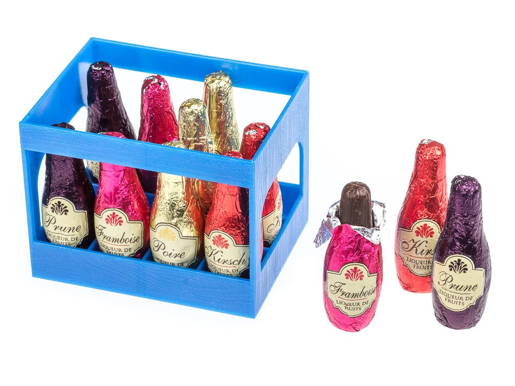 Abtey Chocolate 'Royal des Lys' Liqueur Bottles (Crate of 12 ...