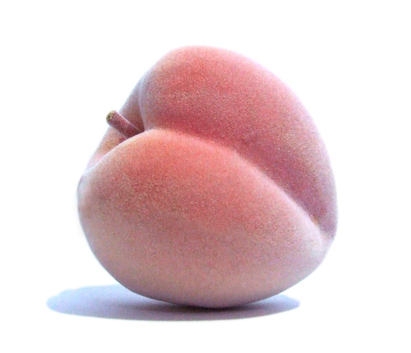 6pc-Artificial-Peach-Large-Plastic-Decorative-Peaches-Pink-Fruit-Six-Pieces