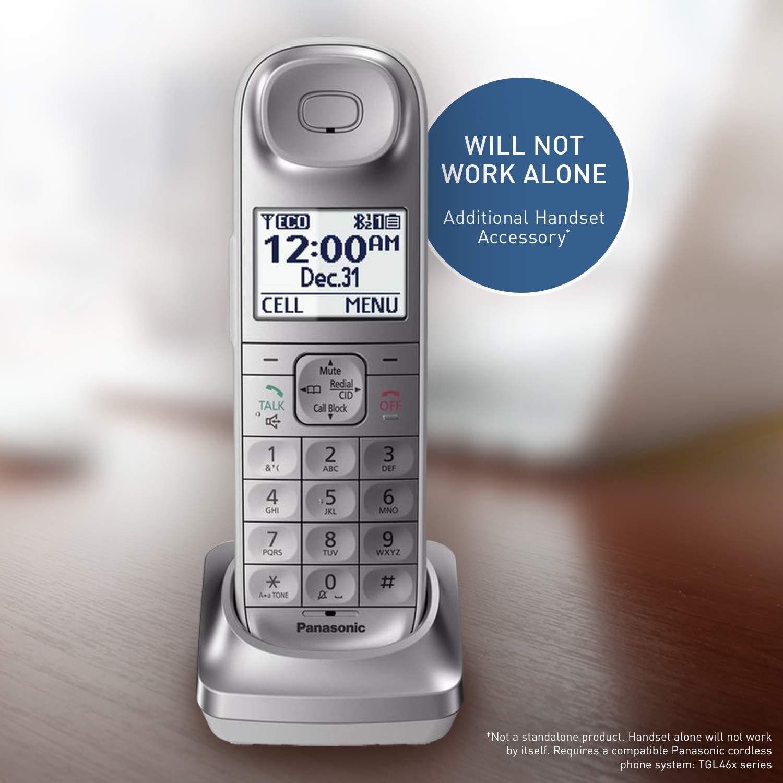 Panasonic KX-TGLA40S Dect 6 0 Digital Additional Cordless Handset for  KX-TGL463S