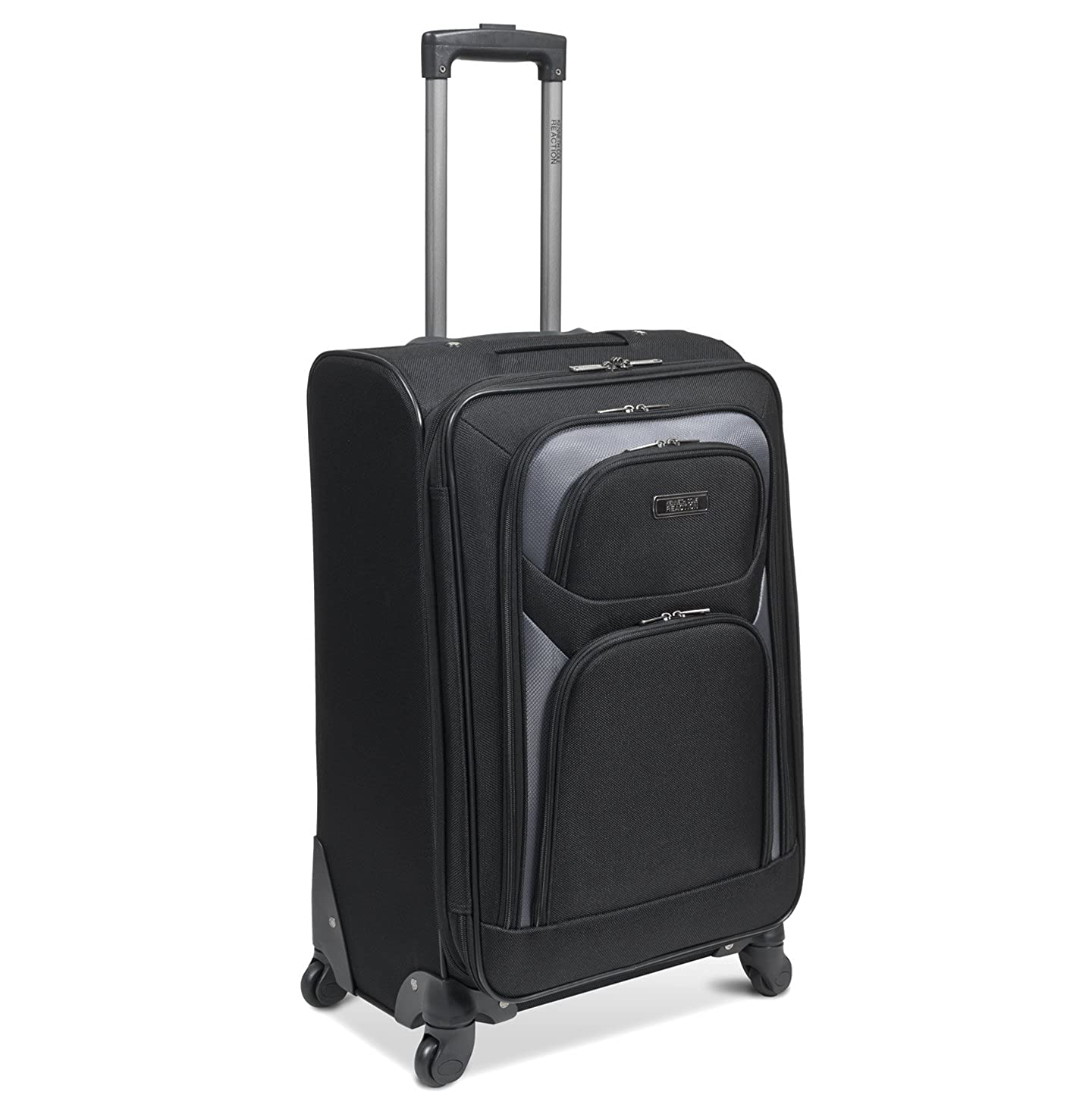 Amazon.com | Kenneth Cole Reaction The Journey Continues Four Wheel  Expandable Pullman, Black, One Size | Suitcases
