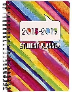 Amazon.com : 2018-2019 Student Planner Calendar - School ...
