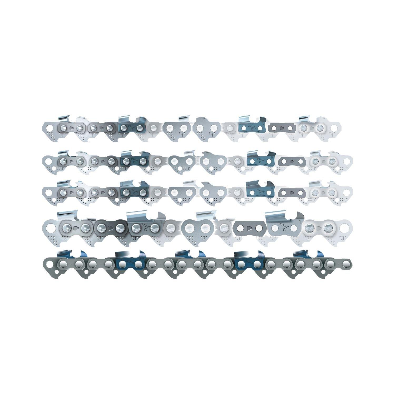 STIHL Ersatzkette PICCO SUPER 63 PS3 3616/55 3/8 Zoll, 55 Glieder, 1.3 mm, Lä nge 40 cm, 1 Stü ck, 36160000055