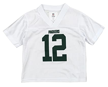 NFL Girls Toddlers Green Bay Packers Aaron Rodgers  12 Dazzle Jersey (2T) 6f50f2a66