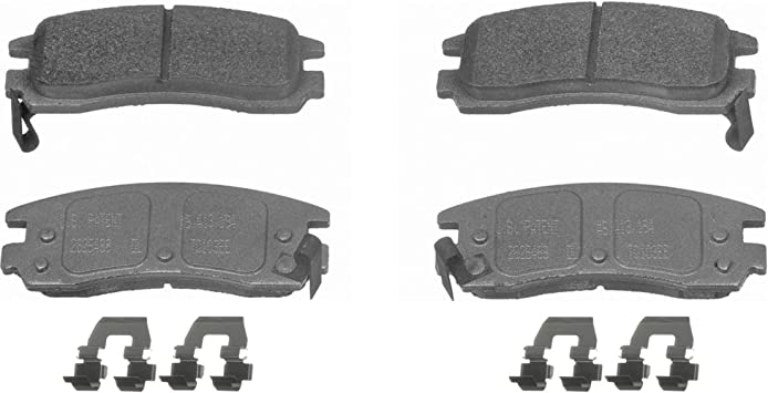 Disc Brake Pad Set-ThermoQuiet Disc Brake Pad Rear Wagner MX1004