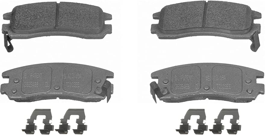Disc Brake Pad Set-ThermoQuiet Disc Brake Pad Rear Wagner MX967A