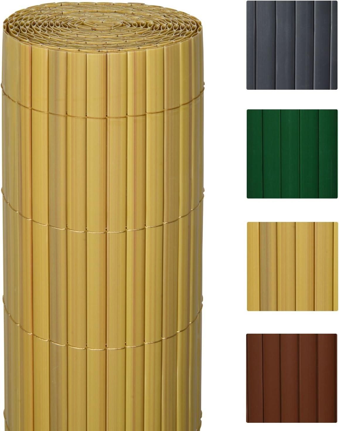 Sol Royal - SolVision Protección Visual de PVC barandillas cercas Vallas de jardín o terraza - 80x400 cm - Natural: Amazon.es: Hogar