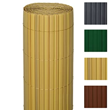 Sol Royal Pvc Sichtschutz Zaun Solvision 90x500cm Bambus