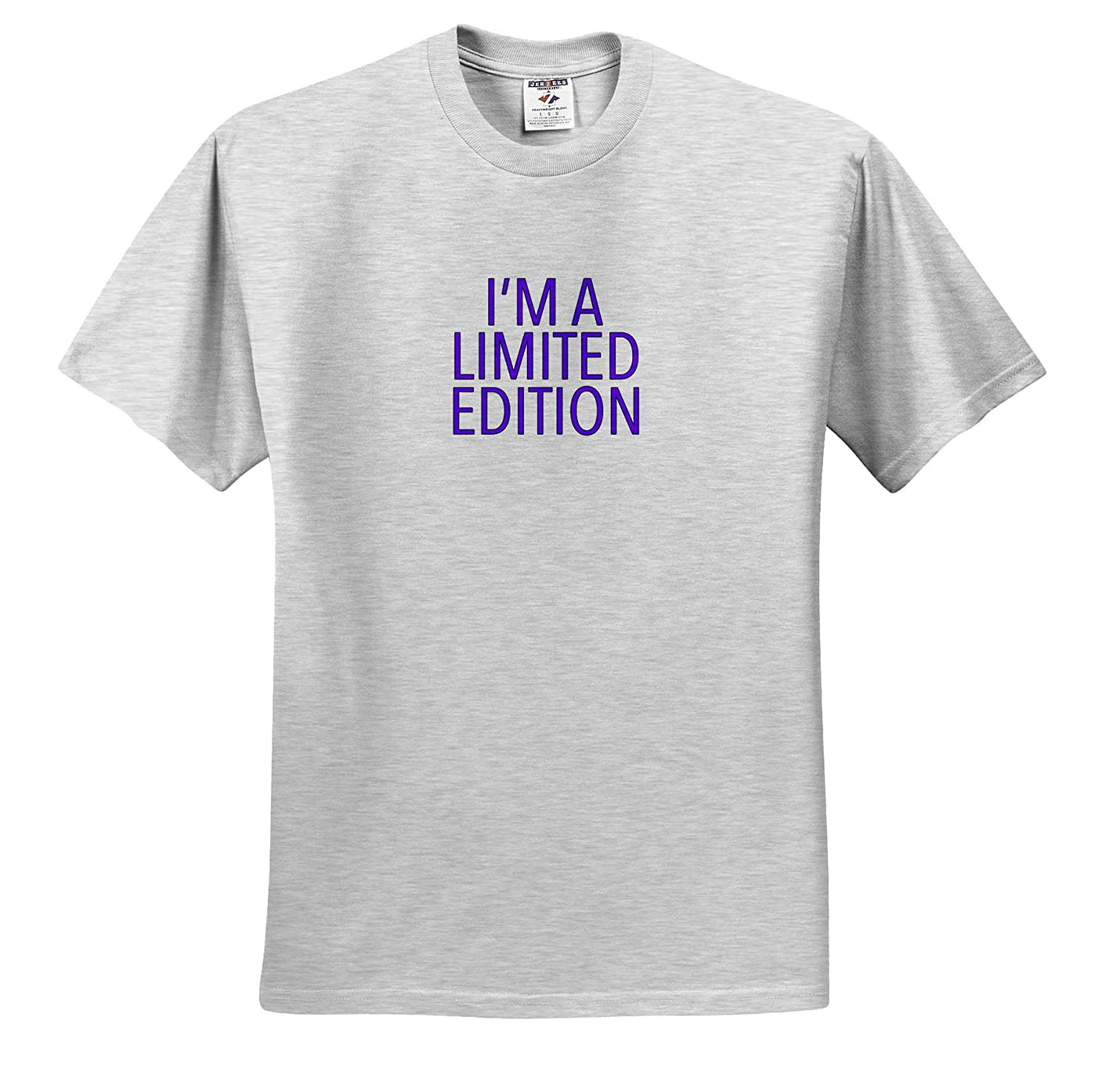 Im A Limited Edition Purple T-Shirts 3dRose EvaDane Funny Sayings