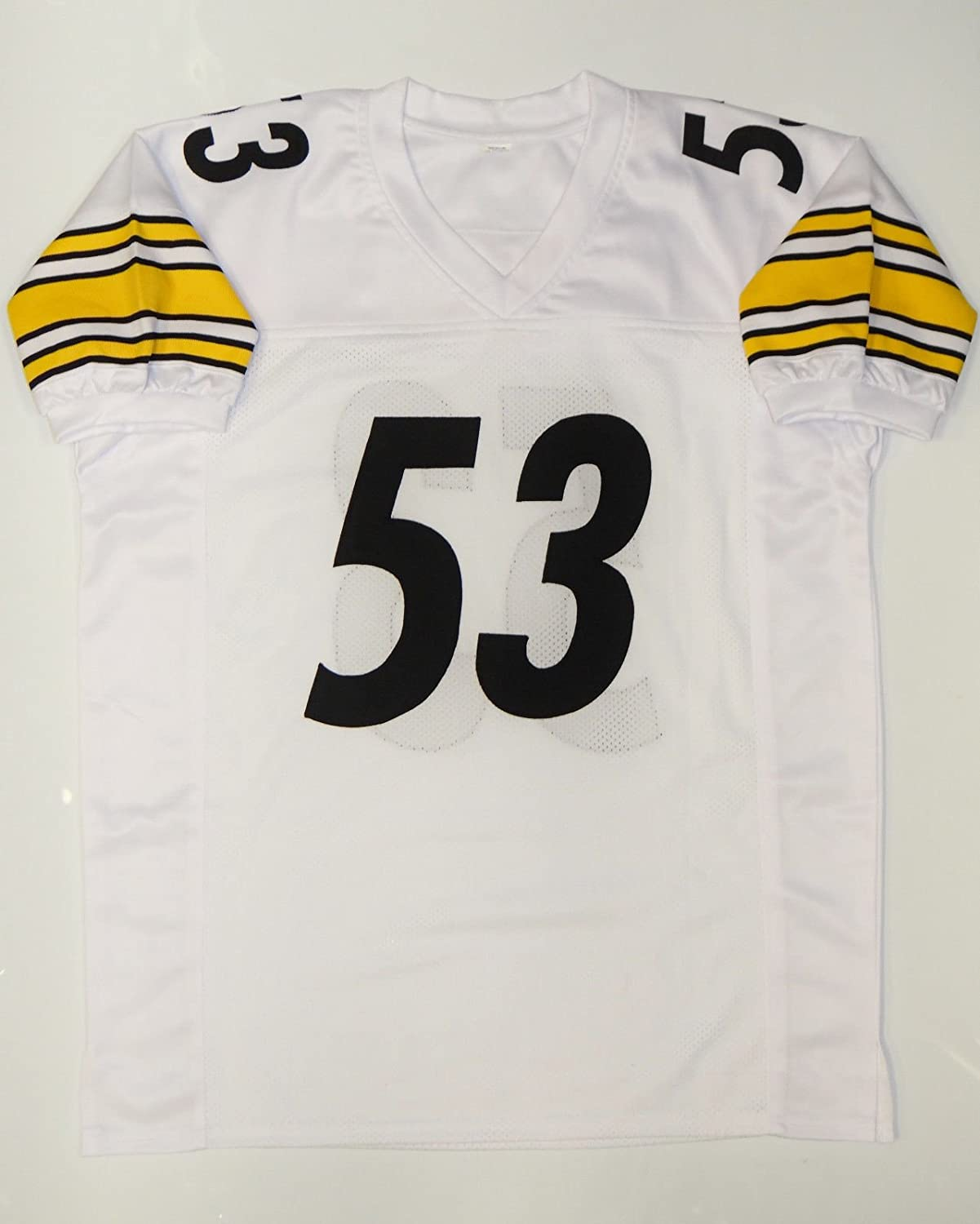 super popular 1b324 f2431 Maurkice Pouncey Signed / Autographed White Pro Style Jersey ...