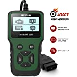 NEXPOW Car OBD2 Scanner, V311 Automotive Engine Fault Code Reader, Car Diagnostic Scan Tool with Battery Test Tool for All OB