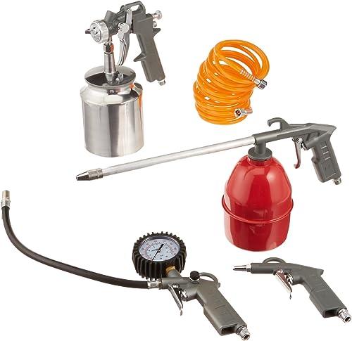 Grizzly H5530 Spray Blow Gun Kit, 5-Piece