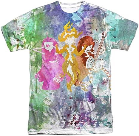 Adventure Time - Camiseta para hombre, diseño de tres mujeres ...