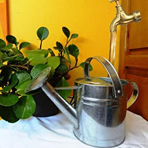 Invisible Flowing Spout Watering Can Fountain Courtyard Art Deco - Imitation Flowing Water Floating Tap Faucet Fountain Decoration, Outdoor Tabletop Fountains, DIY Yard Art Decor Outside (A/1PC)