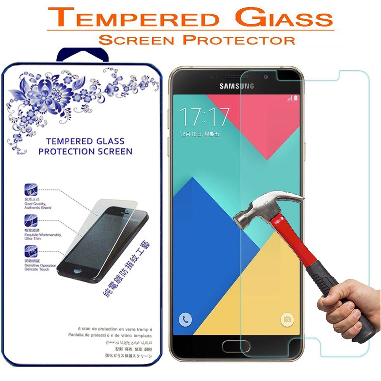 Amazon Screen Protector Nacodex for Samsung Galaxy A7 2016 Premium Ballistic Tempered Glass Screen Protector for Samsung Galaxy A7 2016 Cell