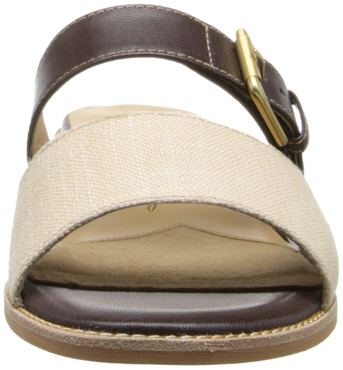 Trotters Women's Billy Dress Sandal B00M15MR76 6 W US|Dark Brown/Natural