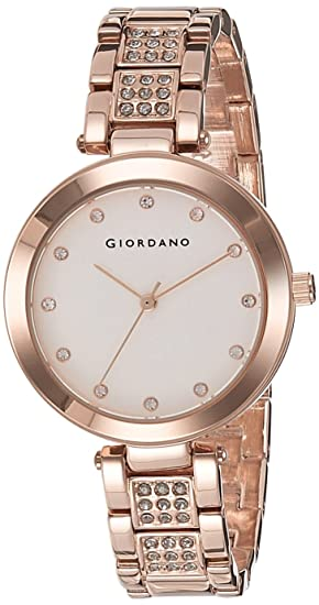Buy Giordano Analog White Dial Women\u0027s Watch , A2037,33 Online at Low  Prices in India , Amazon.in
