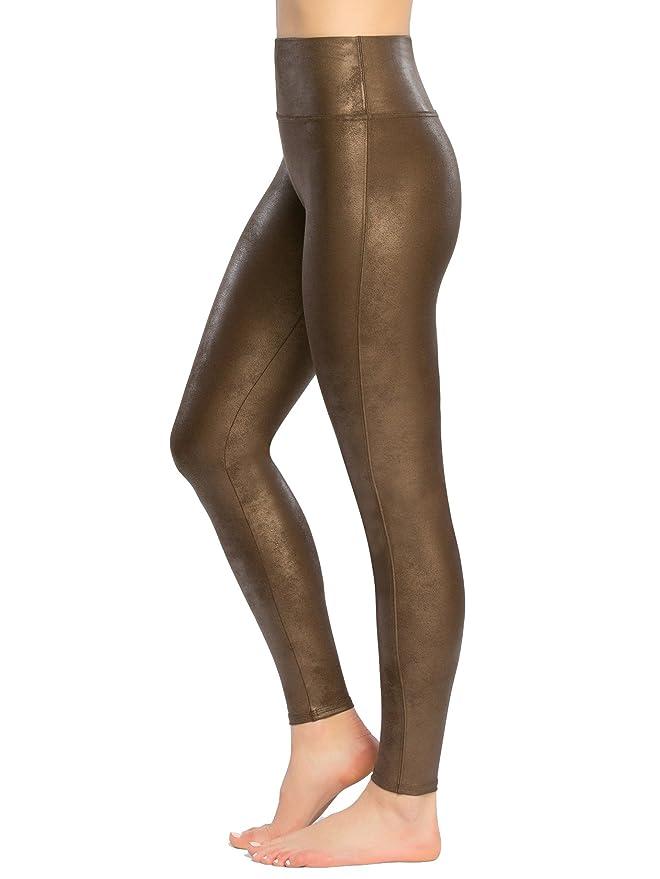 3de28b9a953a4f Spanx Damen Leggings Faux Leather  Amazon.de  Bekleidung