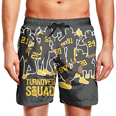 f42a519a Pittsburgh Steelers Champion Fans Poster Men Custom Swimming Trunks ...