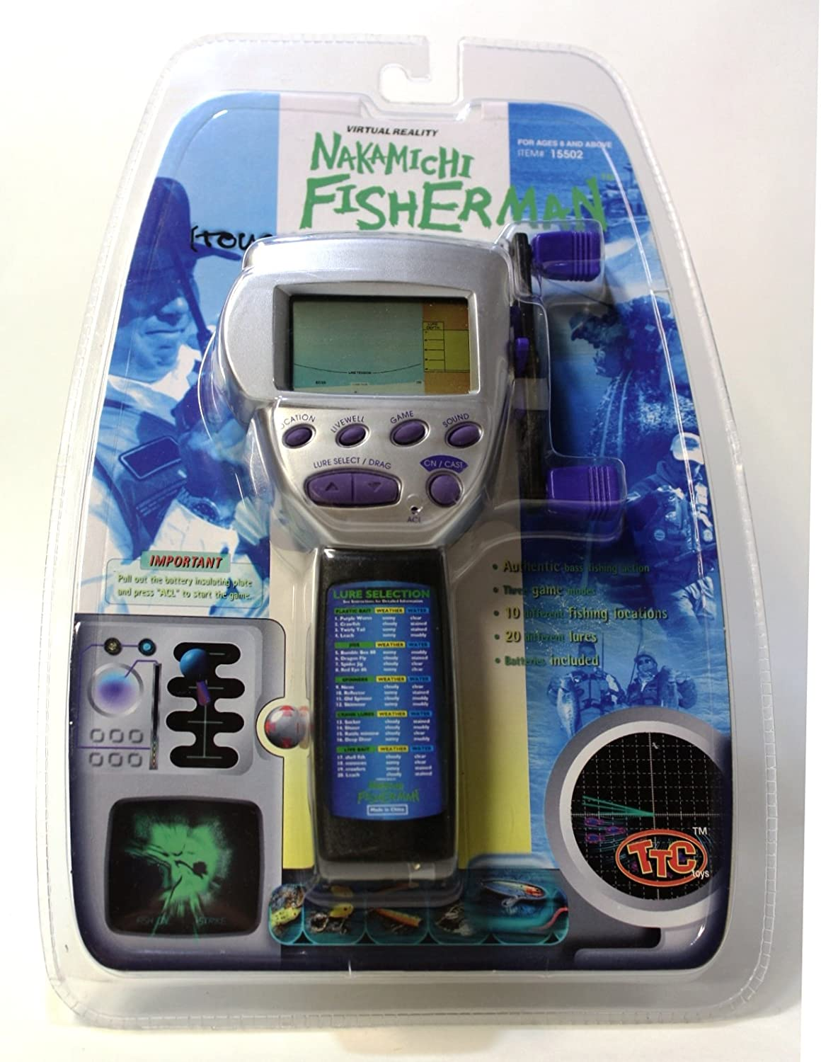 Nakamichi Fisherman Tourament Version Electronic Speaker Diagram And Parts List For Audioequipmentparts Fishing Game Toys Games
