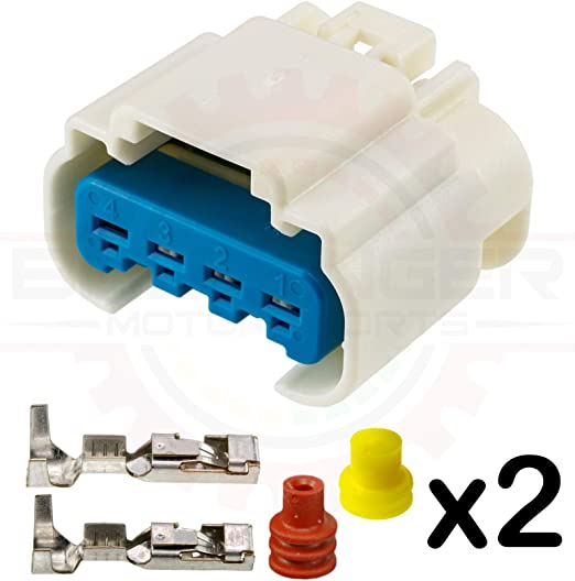 Genuine GM Connector Kit-Wrg Harn   Natural 13587174