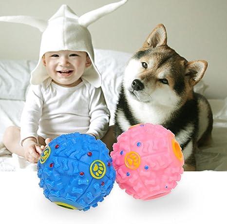 homepuff pelota bola Sonido dispensador croqueta comida juguete ...