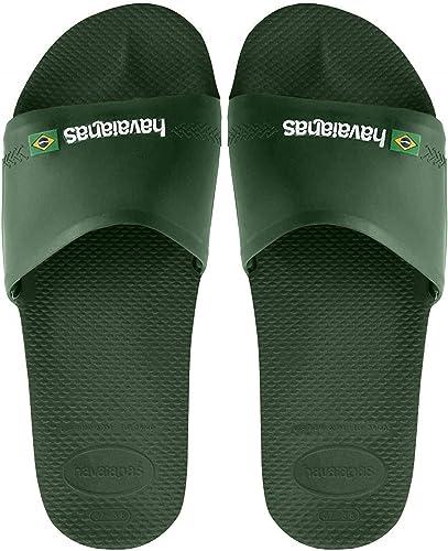 Havaianas Flip flop Brasil Logo Men Rubber Sandals Women Size UK 3 4 5 6 7 8 9 1