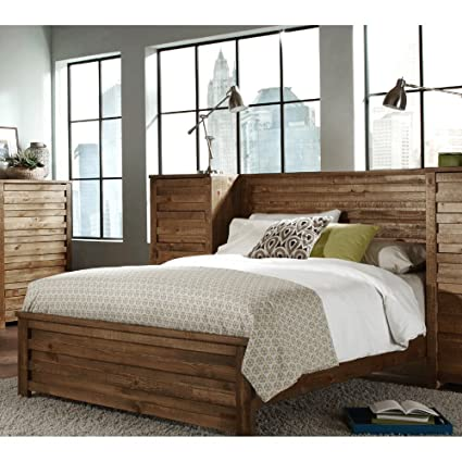 Amazon.com: Progressive Furniture Melrose Panel Bed: Kitchen & Dining