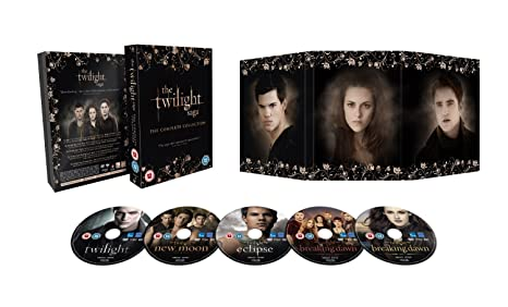 The Complete Twilight Movies 1 - 5 DVD Collection: Twilight