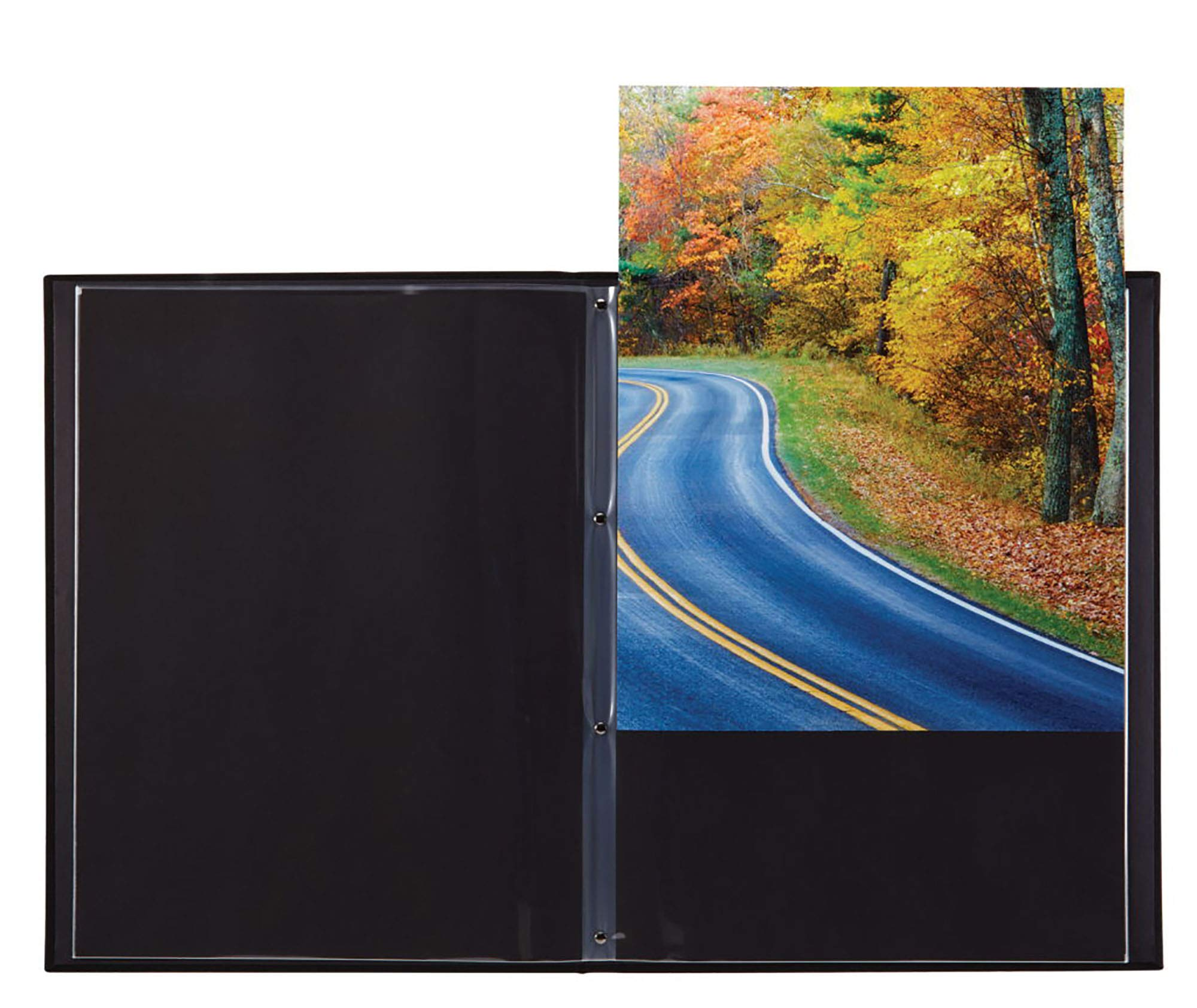 ProFolio by Itoya, Professional Art and Photography Presentation Book Portfolio With 24 Pockets - 8 x 11 Inches