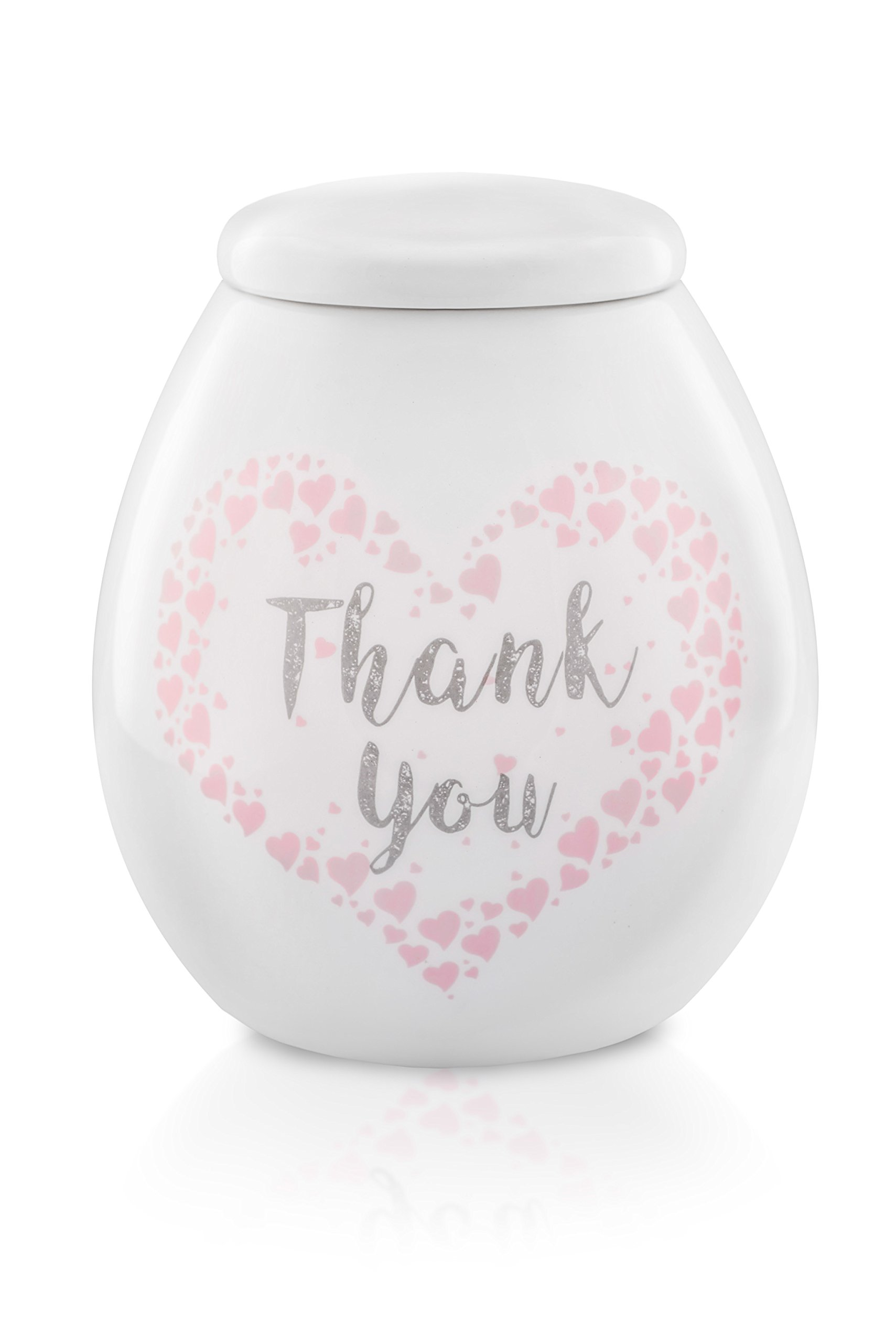 Mysecre Pot of Gratitude. Perfect Gift for Birthday, Anniversary, Mothers Day, Fathers Day. Be Grateful for your Life, Health, Family, for your Children, Parents, Friends. Tell it to Them!