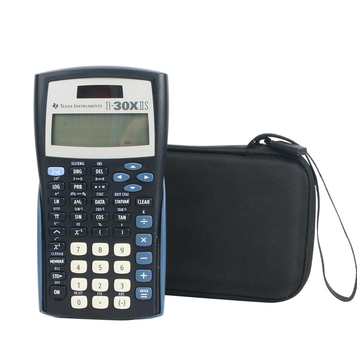 Amazon.com : co2CREA Carrying Travel Storage Organizer Case Bag for Texas  Instruments TI-30Xa/TI-30X IIS 2-Line Scientific Calculator : Electronics