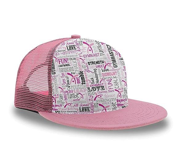 a7055b9b Gymnastics Baseball Cap Tactical Cap for Girls Kids Boys, Relaxed Fit  Snapback Cap Ball Cap