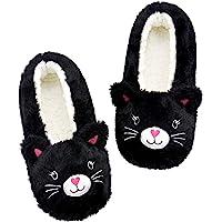 Panda Bros Womens Slipper Socks Low Cut Super Soft Warm Home Sock with Non-Slip Indoor Slipper Shoes Socks