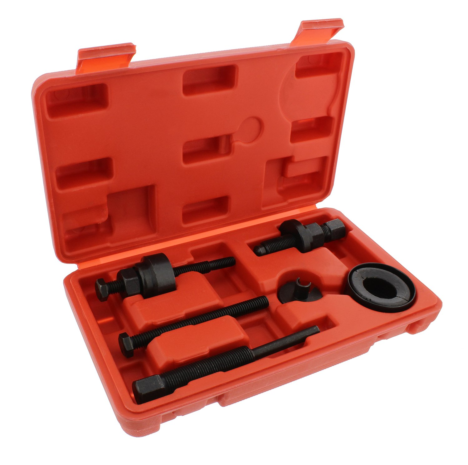 ABN Automotive Power Steering Pump Pulley Remover Installer Tool Kit – Puller Removal Set for GM, Ford, Chrysler Truck by ABN (Image #1)