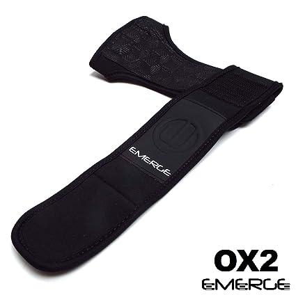 Pull Up workout antiscivolo – Solida protezione delle mani con tutore polso  - Grip confortevoli per la ginnastica WOD Cross Training - Migliori dei  guanti ... e5429370ccdc