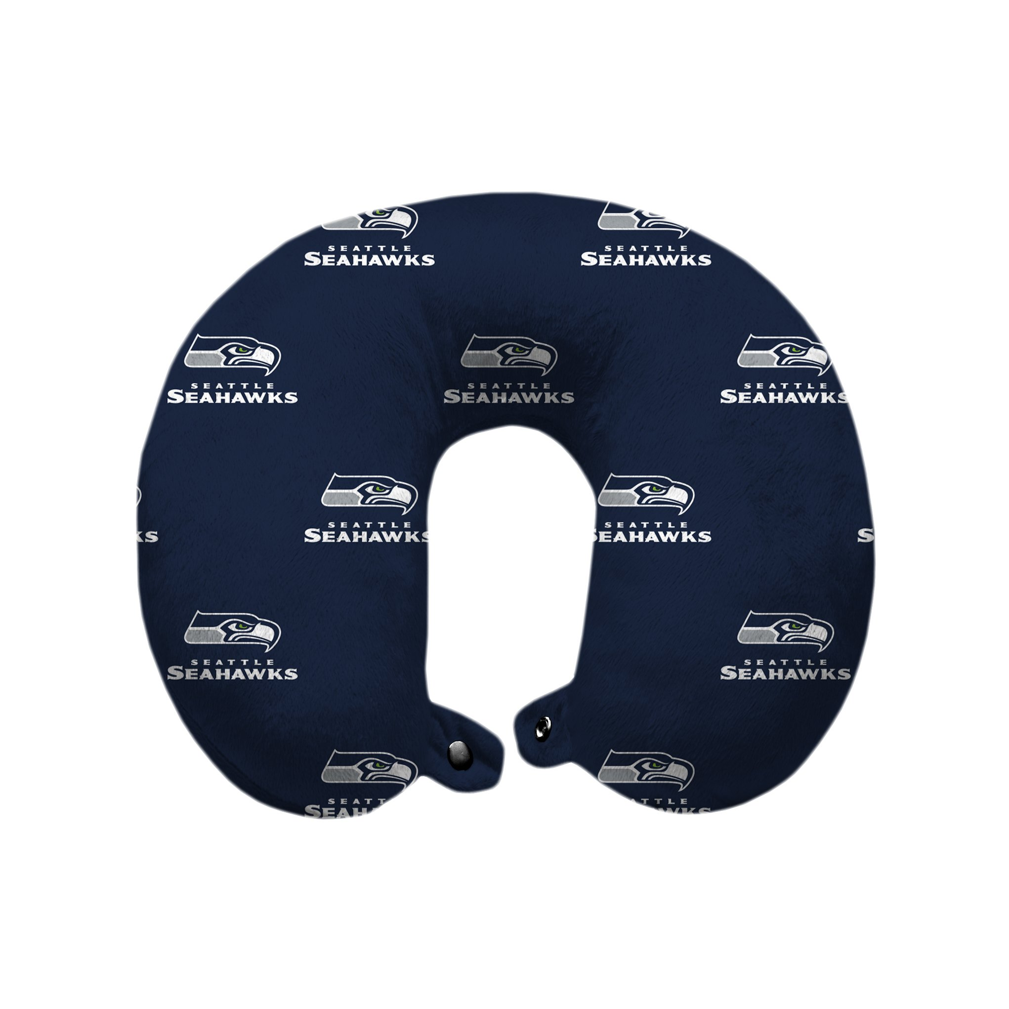 Pegasus Sports NFL Seattle Seahawks U-Neck Polyester Travel Pillow by Pegasus Sports