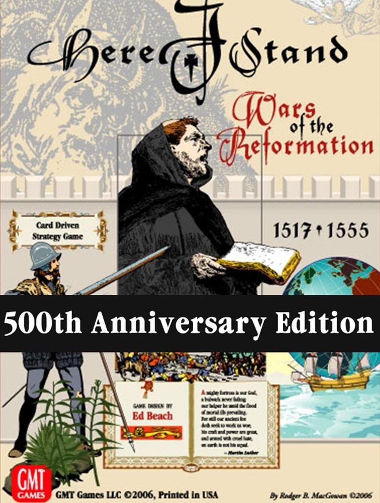 Here I Stand : 500th Anniversary Reprint Edition