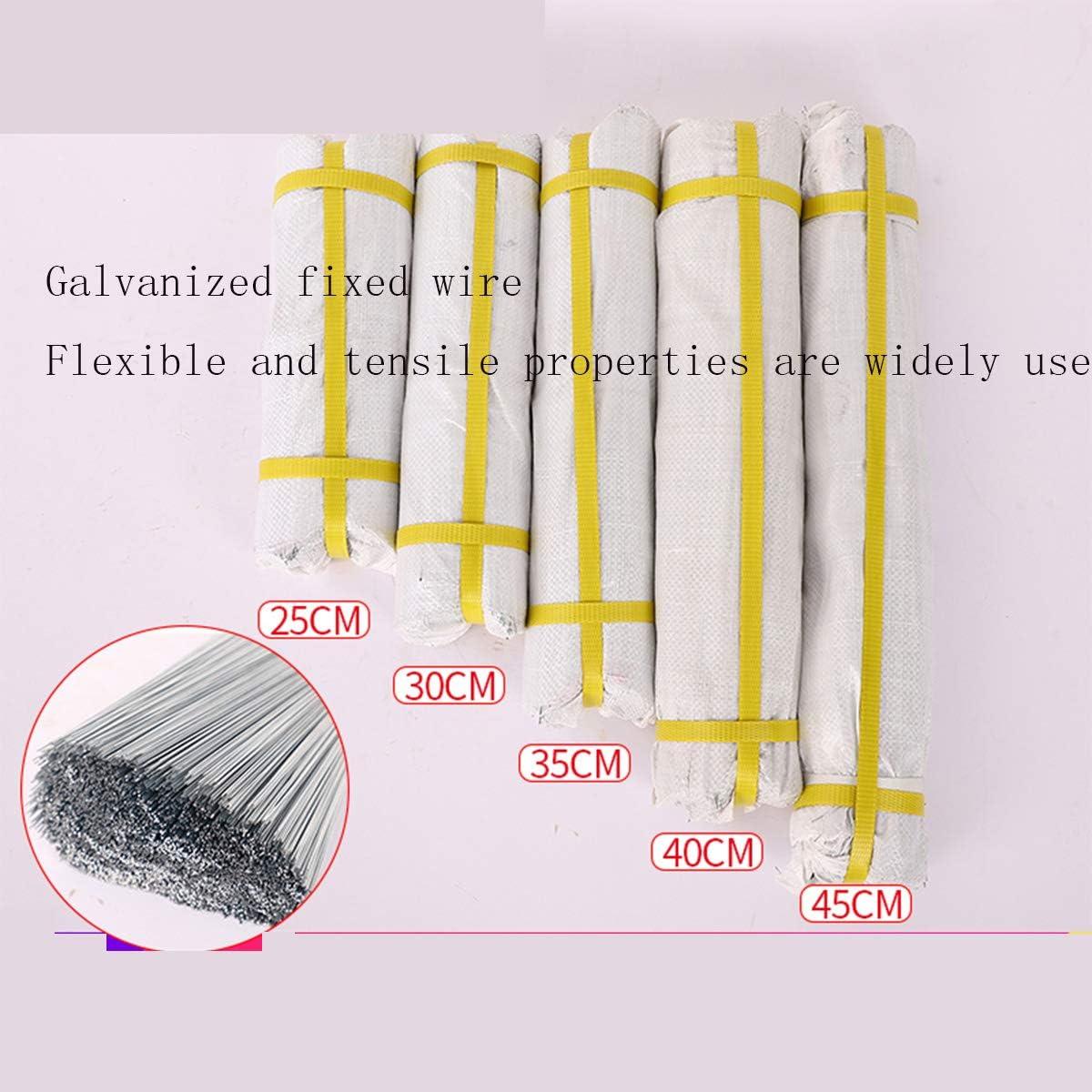 LOKIH Heavy Duty Garden Wire Galvanised Wire Metal Fencing Wire Outdoor Size:25cm//30cm//35cm//40cm,35cm