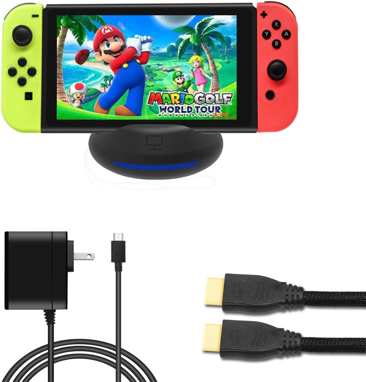J&TOP - Juego de Base portátil para Nintendo Switch: Amazon.es: Electrónica