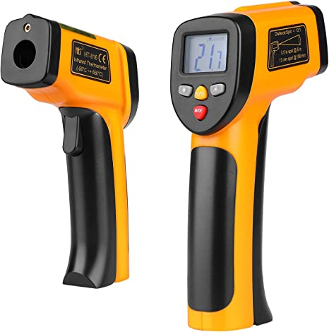 Thermometer Infrared Handheld Temperature Gun Non-Contact IR Laser Point ℃//℉