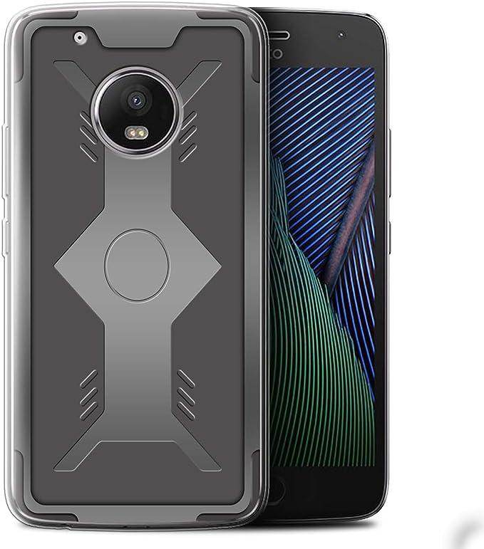 Stuff4 - Carcasa para Motorola Moto G5 Plus, diseño de escudo: Amazon.es: Electrónica
