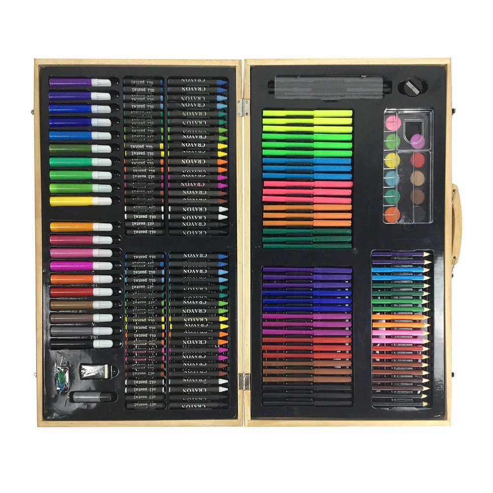 JIANGXIUQIN Artist Art Drawing Set, Artwork Such As 180 Paintings, Paintings in Compact Carrying Cases, A Great Gift for Beginners and Serious Artists. Gifts for Children and Children. by JIANGXIUQIN (Image #2)