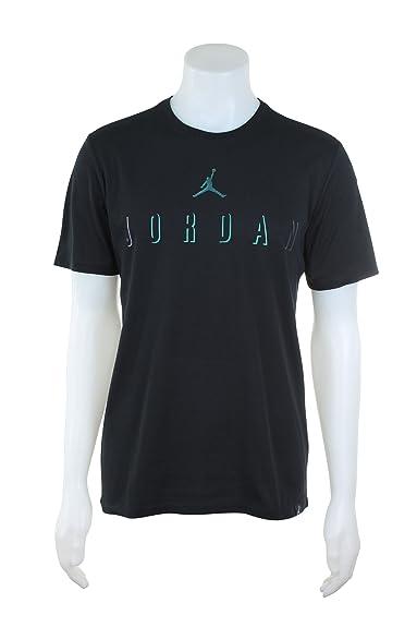 19532b3ab5e5ed Jordan Training TEE Mens Fashion-t-Shirts 862195 - Black -  JORDAN   Amazon.co.uk  Clothing