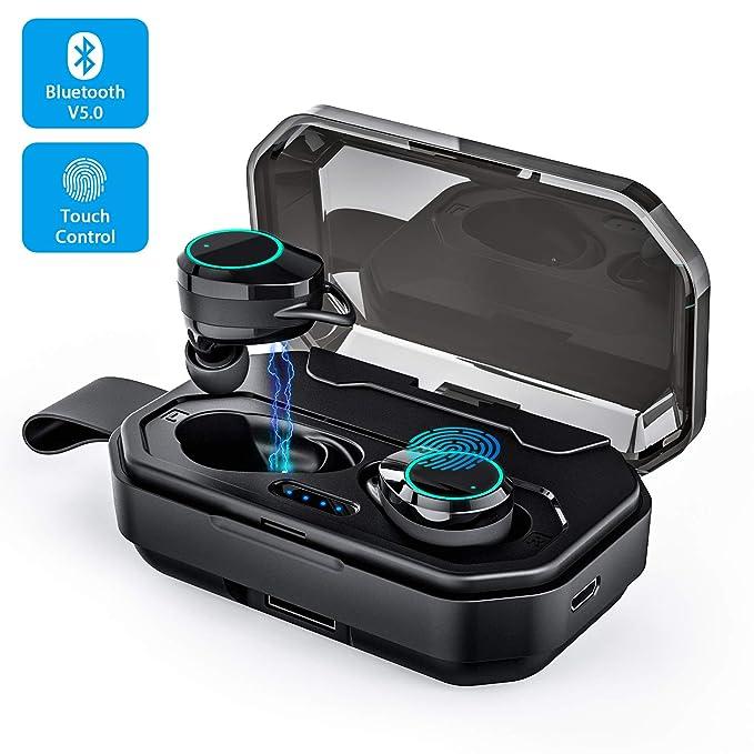6 opinioni per Cuffie Bluetooth 5.0 Auricolari Wireless Nell'orecchio Stereo TWS Sport