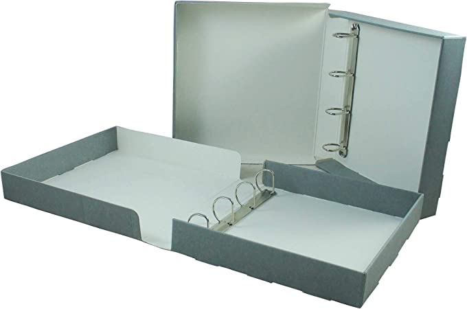 Archivador de caja, tamaño A3: Amazon.es: Oficina y papelería