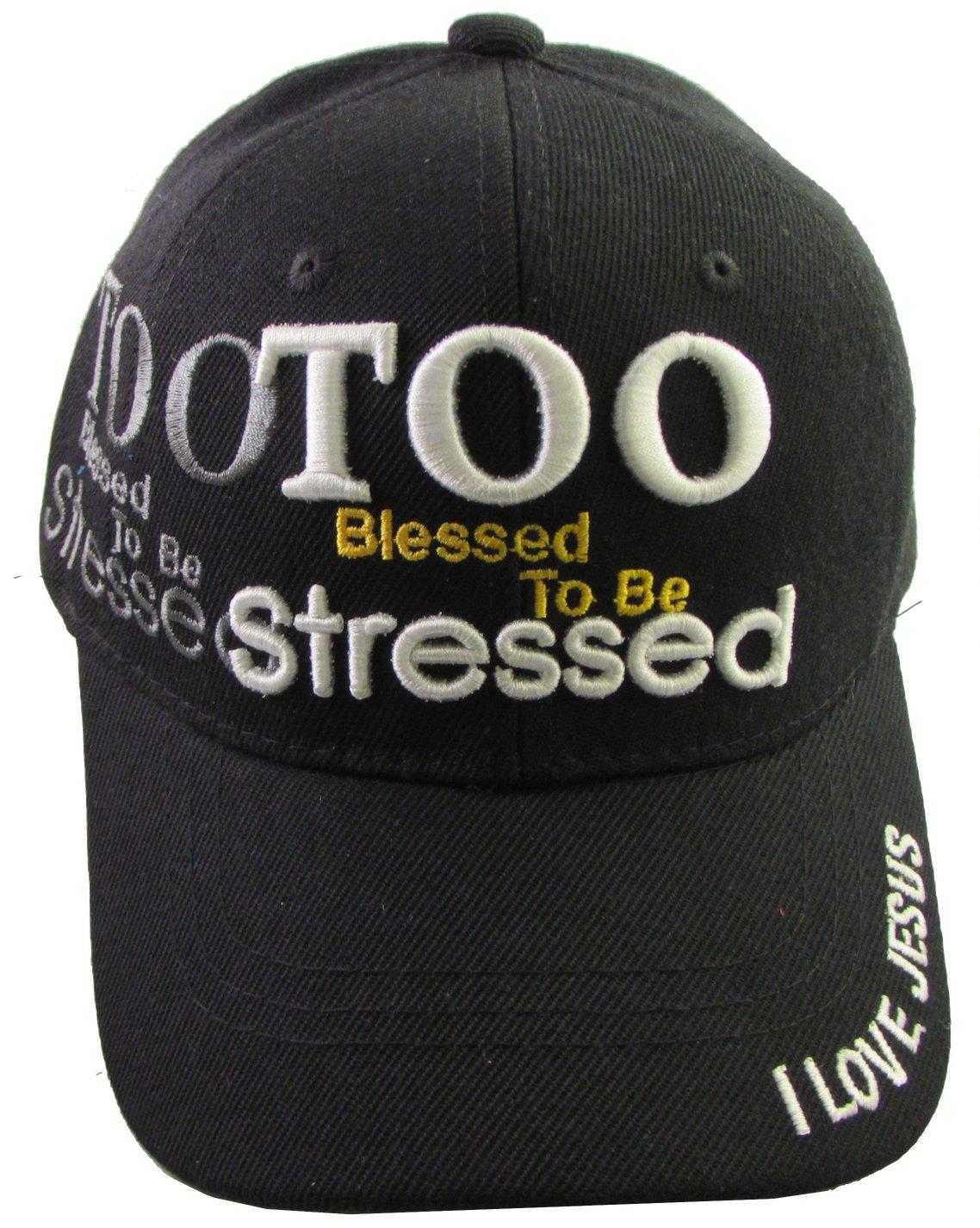 I LOVE JESUS - Christian Religious Baseball Style Cap - Adult Hat