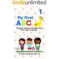 My first ABC: For girls and boys who start their first steps in reading (English Edition)