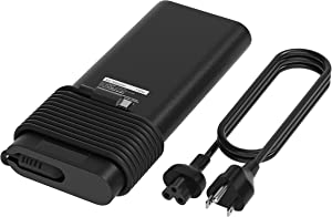 E EGOWAY 130W PD USB C Laptop Charger Adapter Power Supply Compatible with XPS 1595609575 17 9700 Latitude52805480 553055807275728073807480 9410 9510 with Power Cord
